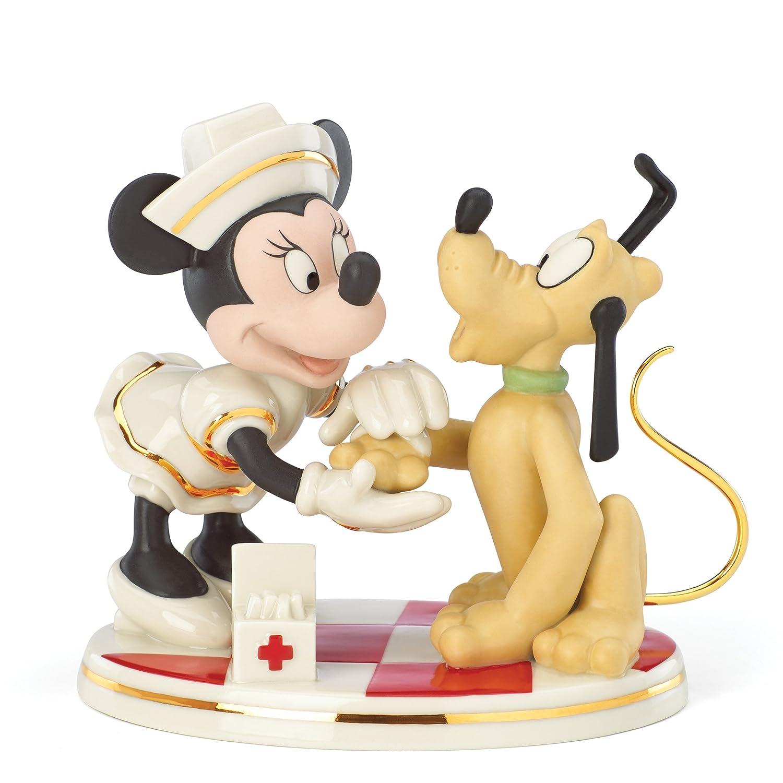 Nurse Minnie Mouse ディズニーフィギュア Lenox社【並行輸入】 B00ITYUIJ2