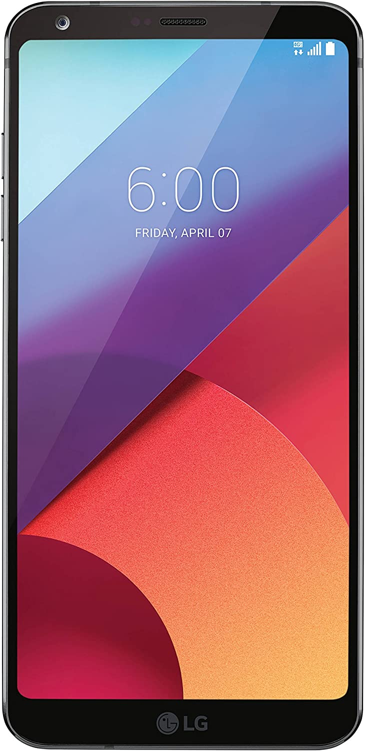 """LG G6 H872 5.7"""" 32GB Unlocked GSM Android Phone w/Dual 13MP Cameras - Astro Black"""