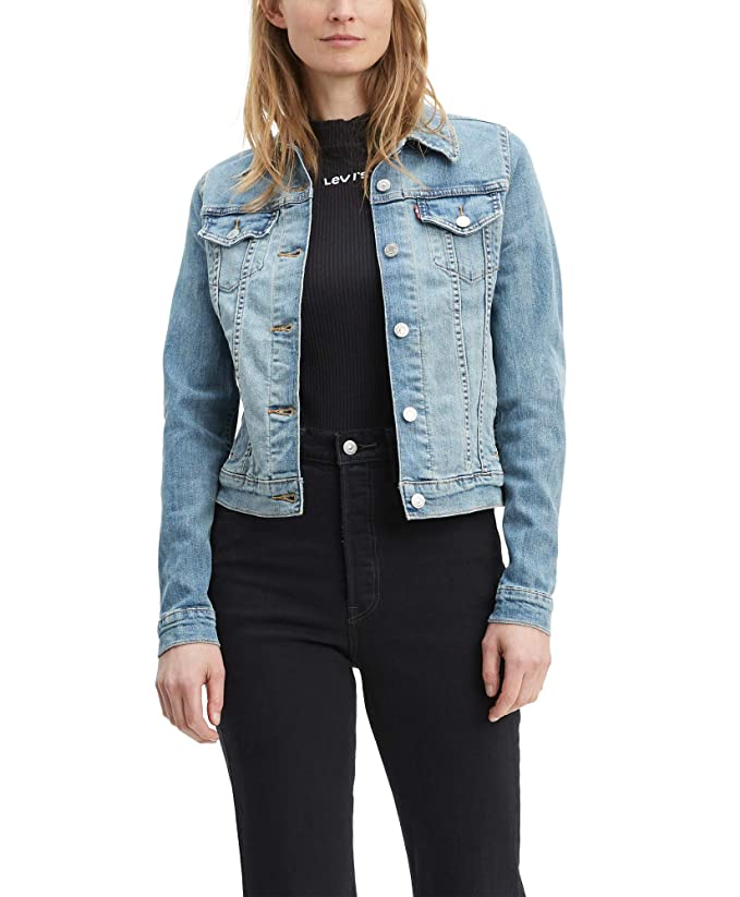 Levi's Women's Trucker Jackets Original, Jeanie, Large best women's jean jackets