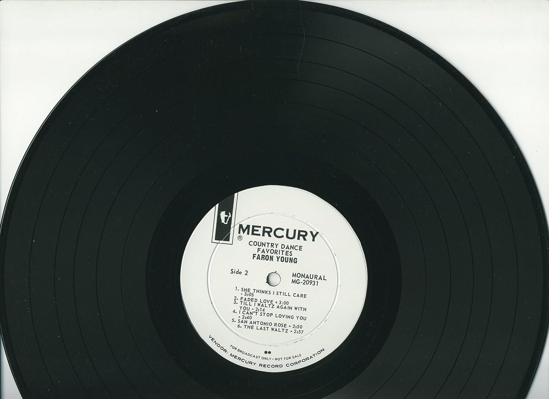Faron Young - Country Dance Favorites PROMO Mercury LP Mono MG-20931