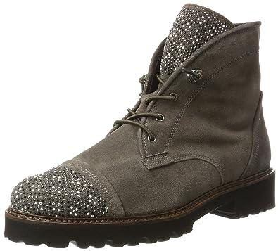 Gabor Shoes Damen Basic Stiefel, Grau (19 Pepper), 41 EU