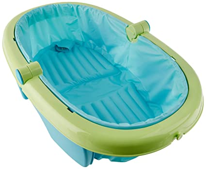 Vasca Da Bagno Usata Con Piedini : Summer infant 83948 vaschetta da bagno pieghevole unisex: amazon