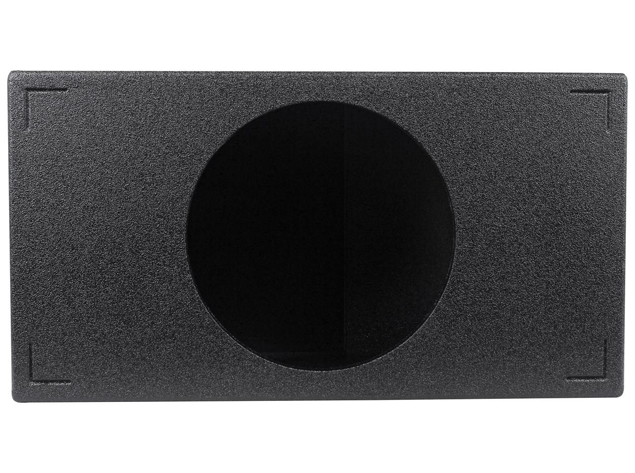 Q Power QBOMB15VL SINGLE Single 15-Inch Side Vented Speaker Box with Durable Bed Liner Spray by Q Power (Image #2)