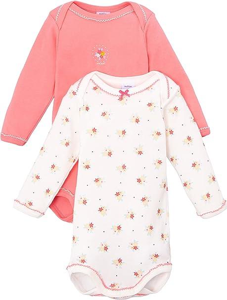 5er Pack Petit Bateau Baby-M/ädchen Body