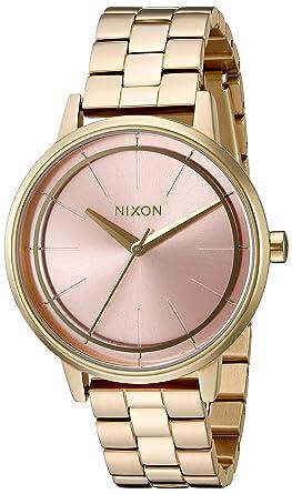 19813b2968806 Nixon Kensington Light Gold Pink Casual Designer Women s Watch (37mm. Light  Gold