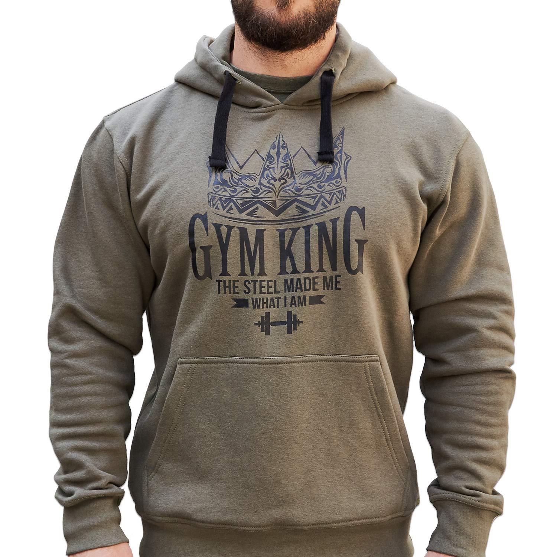 Gym King Gym Hoodie Kapuzenpullover Bodybuilding Fitness Wear Wear Fitness a55086
