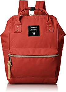Anello Polyester Canvas Backpacks Japan import (Orenge)