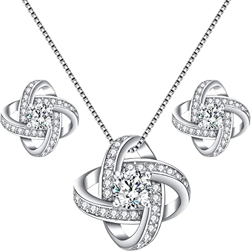 925 Sterling Silver Polished Black and White Cubic Zirconia Necklace Chain Slide Pendant