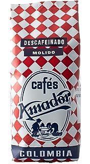 Café AMADOR - Colombia Descafeinado 100% Arábica - Tueste natural - Molido (250g)