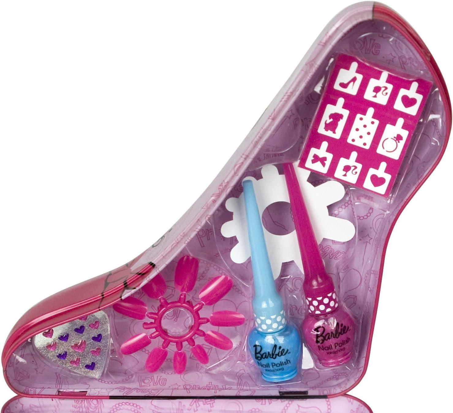 Barbie - Set de maquillaje (Markwins 9519110): Amazon.es: Juguetes y juegos