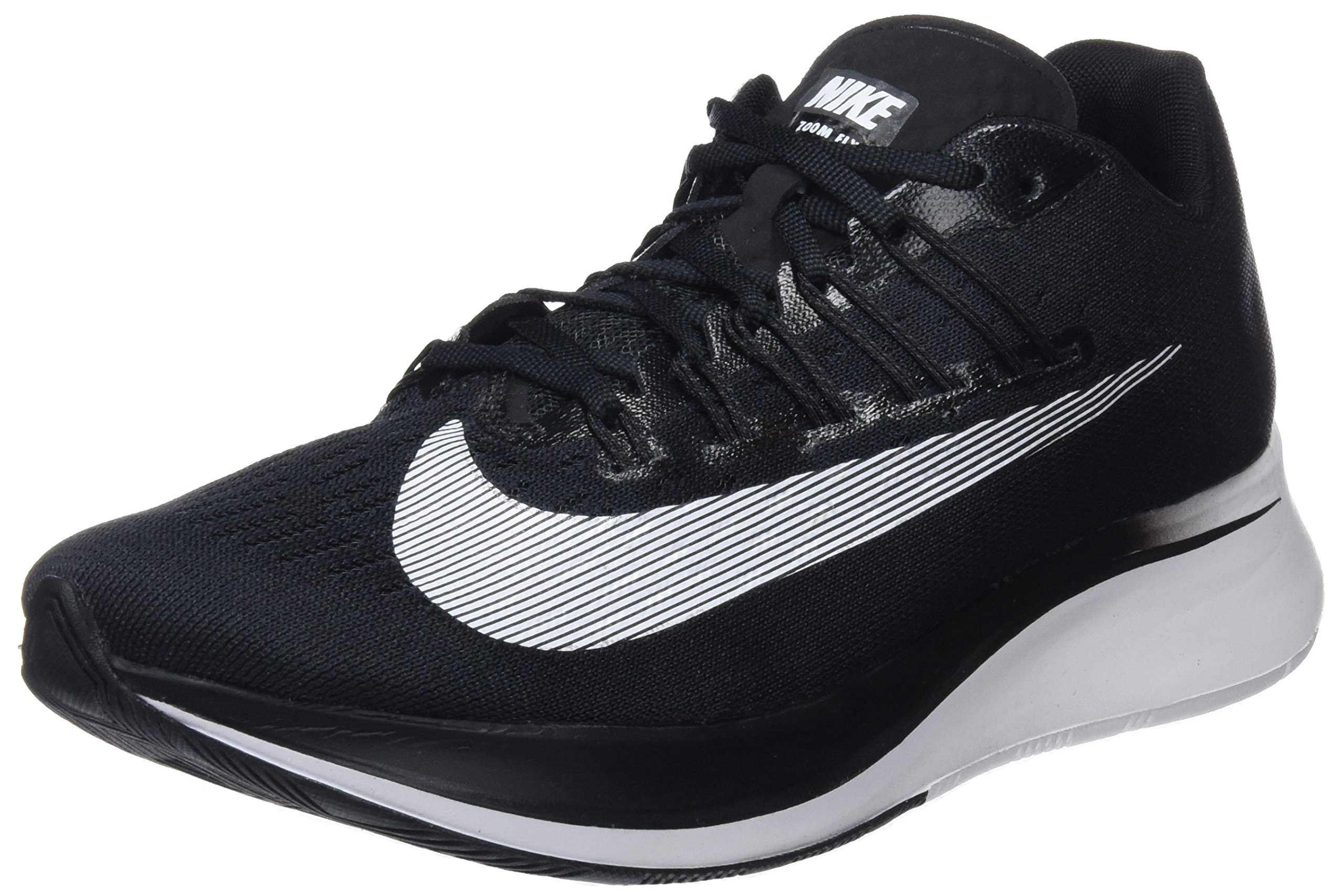NIKE Women's WMNS Zoom Fly, Black/White, 9 M US by NIKE (Image #1)