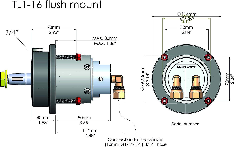 Hydrodrive MF75W Outboard Hydraulic Steering System Till 75 HP ...