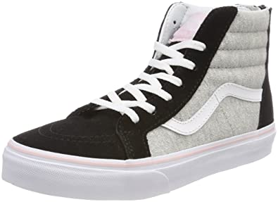 a68b60e2da Vans Unisex Kids' Sk8-hi Zip Trainers: Amazon.co.uk: Shoes & Bags
