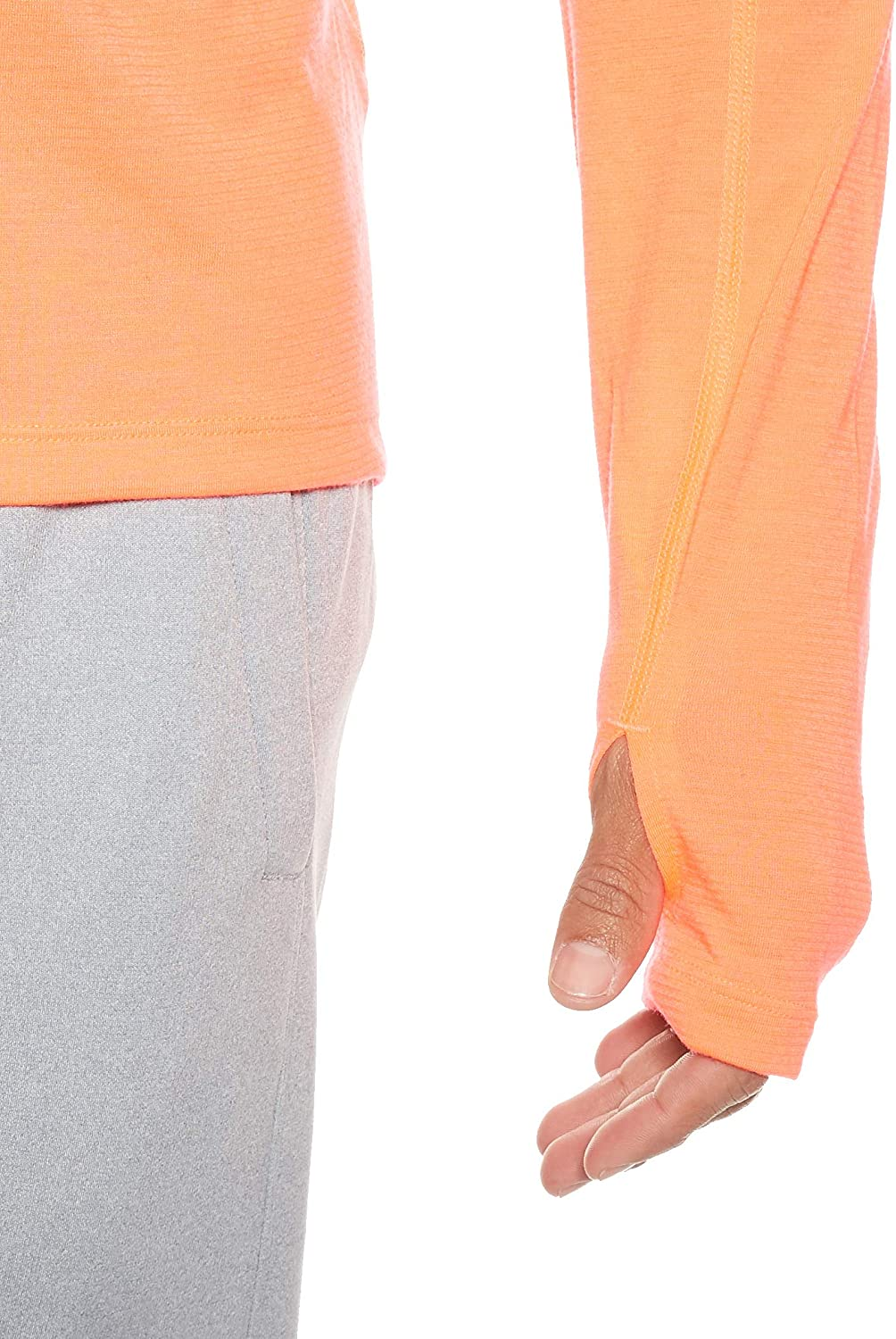 Zip Up Top with Modern Fabric Under Armour Mens Streaker 2.0 Half Zip Long Sleeve Warm Up Top for Running