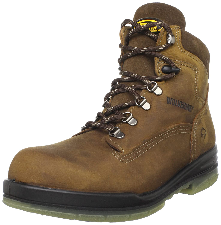 610d53daf814 Amazon.com  Wolverine I-90 DuraShocks Waterproof Insulated Steel Toe ...