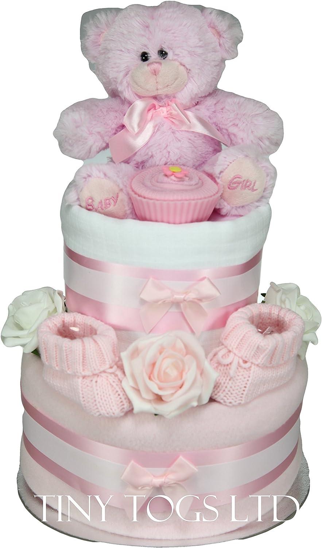 Baby Sock Cupcake Pink Boxed Set of 4