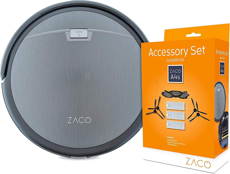 Batterie passend f/ür ZACO Saugroboter A4s A9s A8s A6 ZACO original Li-Ionen Ersatz Akku A-Serie