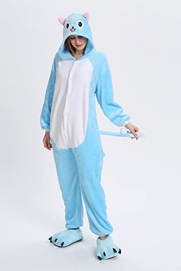 Amazon.com: XMiniLife Happy Adult/Kids Pajamas Onesie Fairy Tail Costume: Clothing