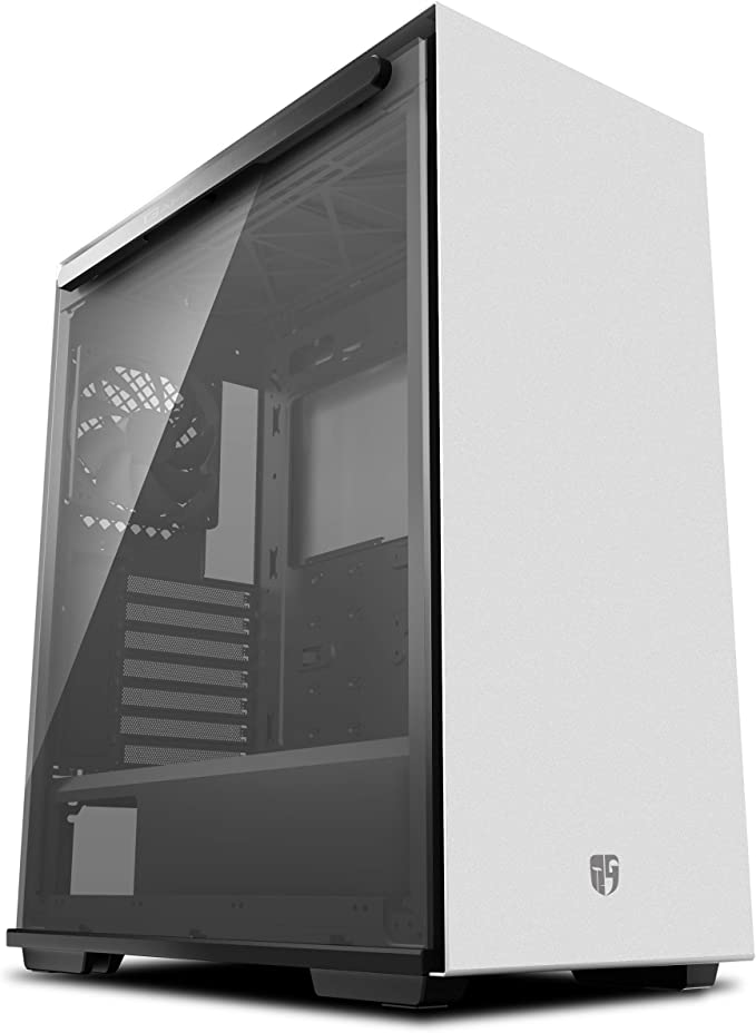 Amazon.com: DEEPCOOL Gamer Storm MACUBE 310 White ATX Mid Tower Case Full-Size Magnetic Tempered Glass Built-in Fan Hub and Graphics Card Holder: Computers & Accessories