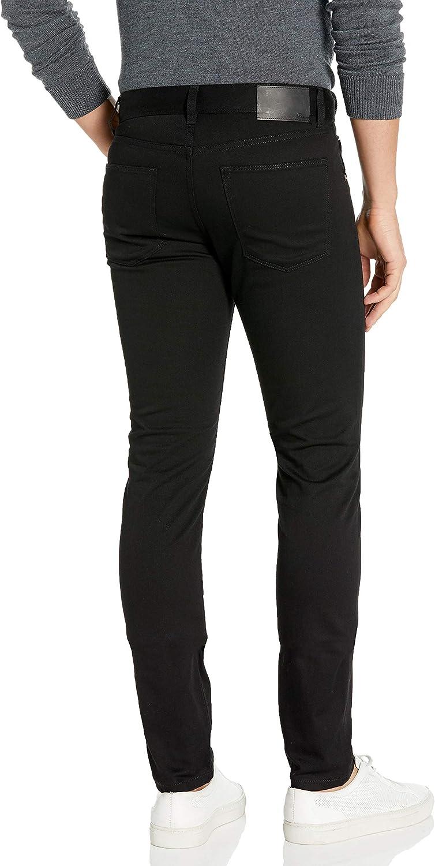 J.Lindeberg Mens Damien Black Stretch Denim Jeans Jeans