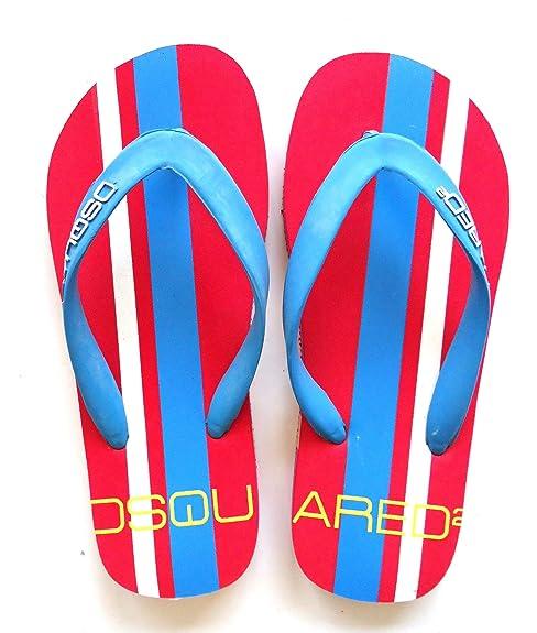 Dsquared2 Dsquared mujer zapatillas sandalias en goma nuevo rojo EU 37 S10L005V94230: Amazon.es: Zapatos y complementos