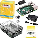 CanaKit Raspberry Pi 3 B+ (B Plus) with Premium Clear Case and 2.5A Power Supply