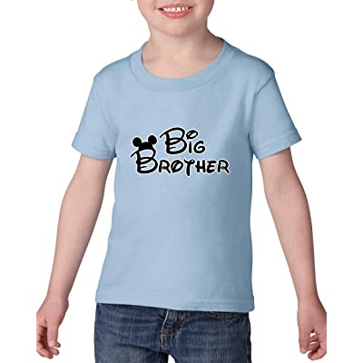 Moms Favorite Family T Shirt Cartoon Boy Big Brother Birthday Gift Heavy Cotton Toddler Kids Tee Clothing