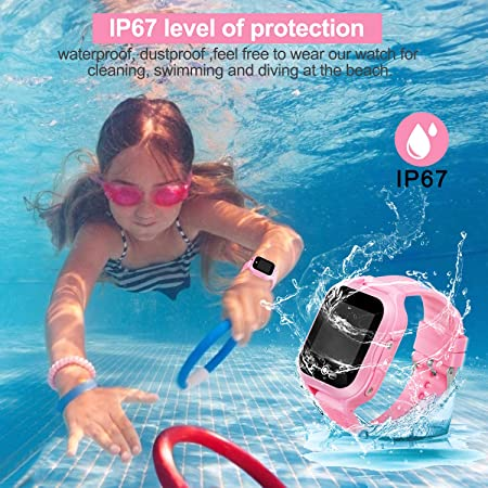 Amazon.com: Kids Phone Watch with GPS Waterproof and App ...