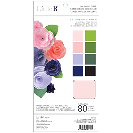 Amazon.com: Little B DIY Flower Paper Pad 2,: Kitchen & Dining