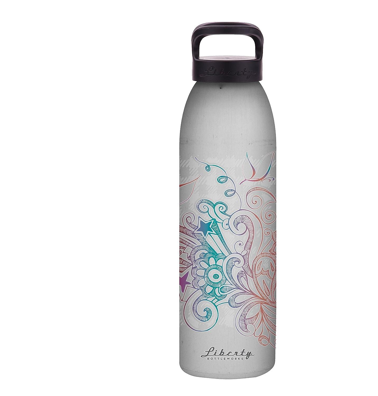 Liberty Bottleworks Notion Aluminum Water Bottle Made in USA 24108466SPBLK-P