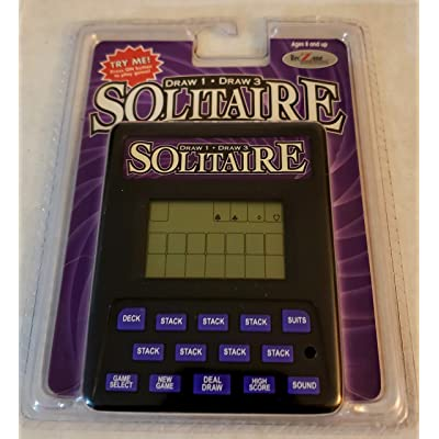 Electronic Solitaire: Toys & Games