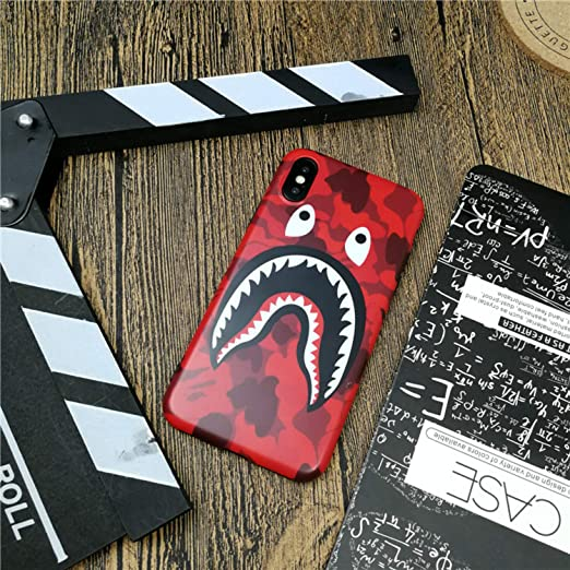 Bape Shark Supreme iPhone Case Streetwear A Bathing Ape for iPhone ...