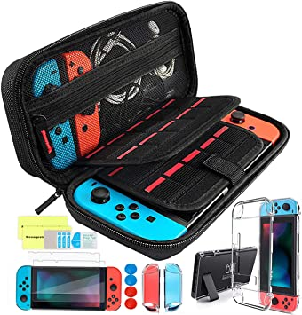 Th-some Kit de Accesorios 14 en 1 para Nintendo Switch, Funda ...