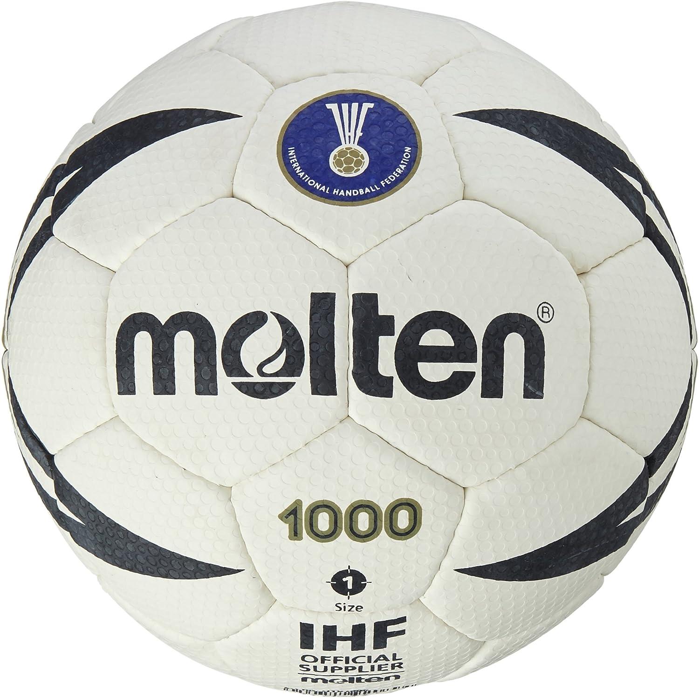 MOLTEN Approved Club/School IHF-Balón de Balonmano, Color Blanco ...
