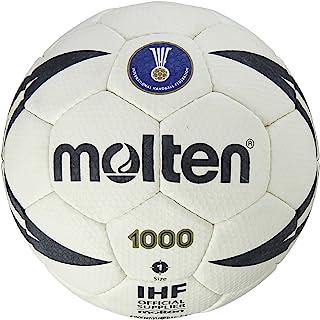 Molten IHF Balle de Handball approuvé Club école-Blanc/Noir-Taille 1