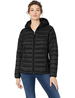ae7d5356 Amazon Essentials Women's Lightweight Water-Resistant Packable Hooded Puffer  Jacket