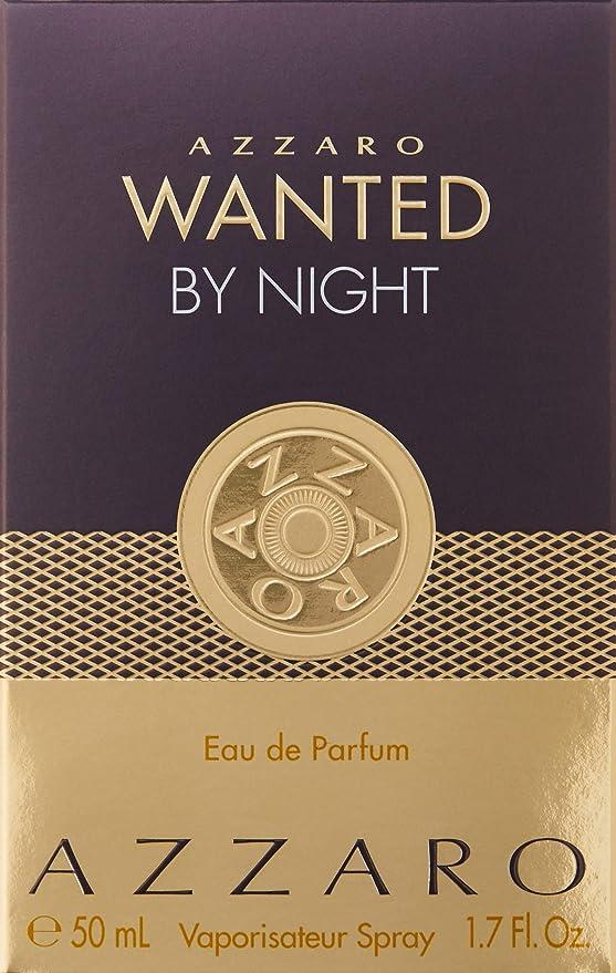 Wanted By Night By Azzaro Eau De Parfum Spray 50ml Amazoncouk Beauty