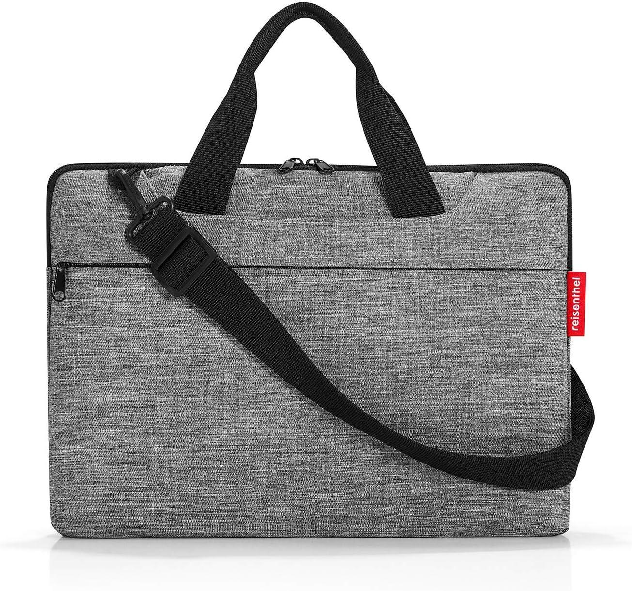 Reisenthel netbookbag Twist Silver Mallette 40 Centimeters 5 Gris Twist Silver