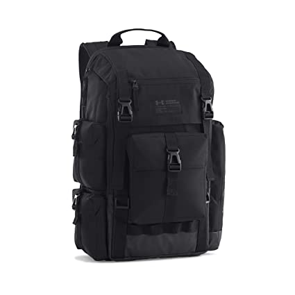 Amazon.com: Under Armour - Under Armour Backpack - Regiment - Black/Charcoal - One Size: Computers & Accessories