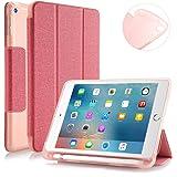 Capa Novo iPad 7º Geração 10.2″ WB Premium Antichoque com Compart. para Pencil Rosa