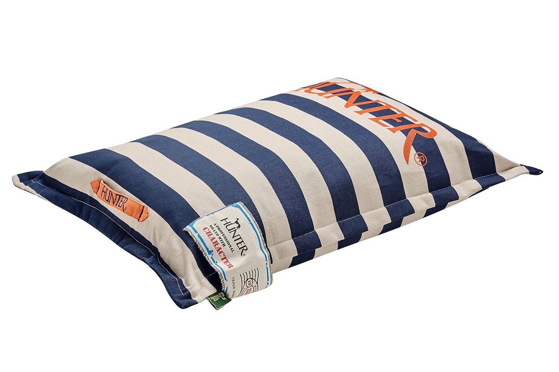 HUNTER Norderney Dog Cushion , 65 cm, Medium, bluee White