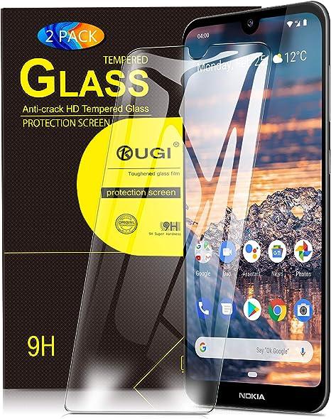 KuGi. para Nokia 4.2 Protector de Pantalla, Cristal Templado [9H ...