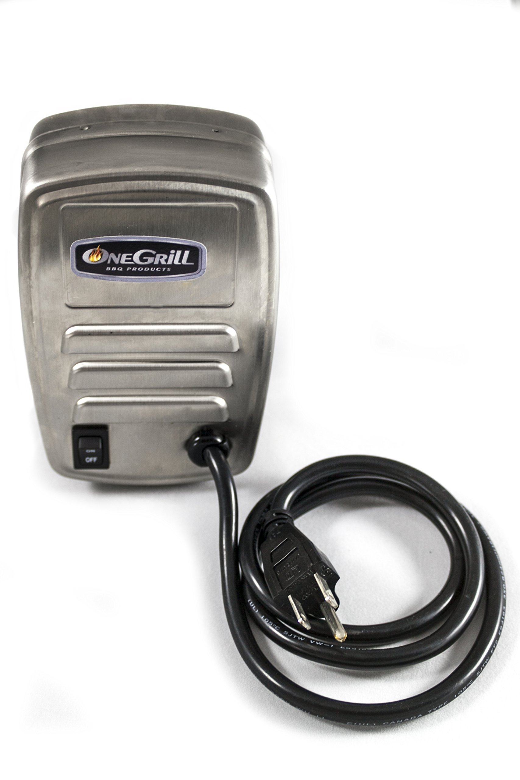 OneGrill Universal Replacement Upgrade Stainless Steel Grill Rotisserie Motor 13 watt 50 lb. Load