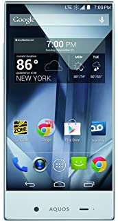 Amazon com: Sharp Aquos Crystal Silver (Boost Mobile): Cell Phones