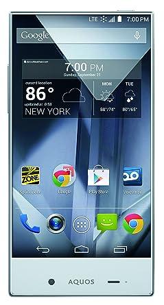sharp aquos phone. sharp aquos crystal, black 8gb (sprint) aquos phone r