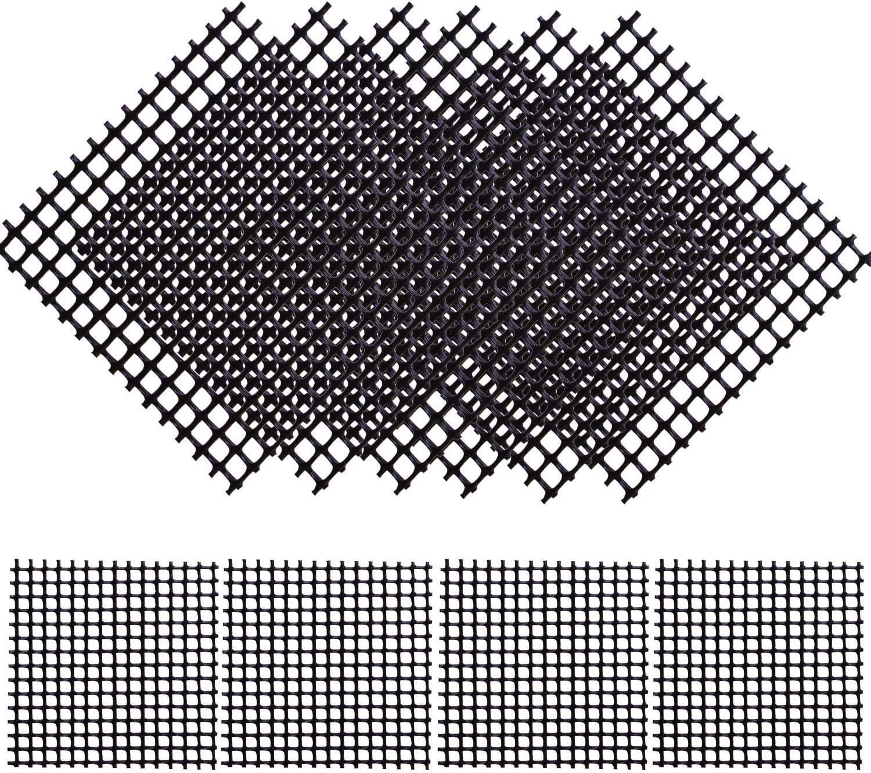 New 100 pcs 2x2 Bonsai Pot Rigid Drainage Screens Mesh Tool
