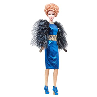 Barbie Collector The Hunger Games: Catching Fire Effie Trinket Doll: Toys & Games