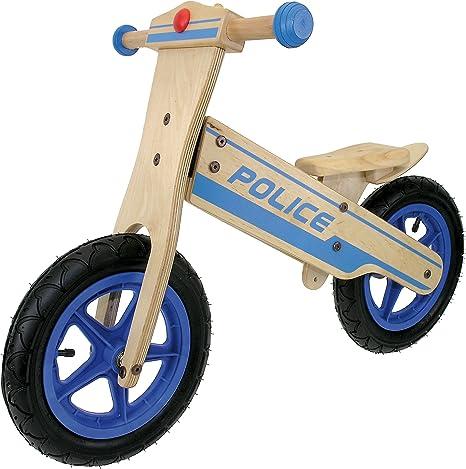 Messingschlager Police - Bicicleta Infantil sin Pedales: Amazon.es ...