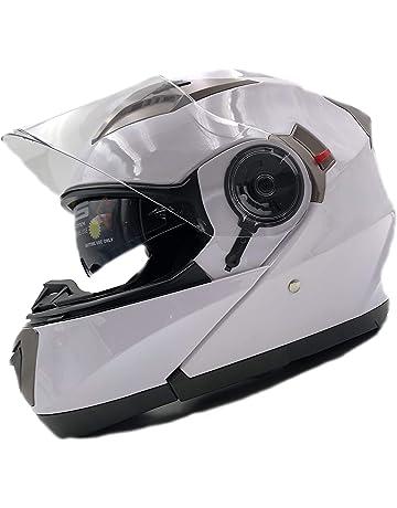 adeff05e Nat Hut Flip Up Motorbike Helmet ECE | Scooter Motorcycle Crash Modular  Helmet Mens, Ladies