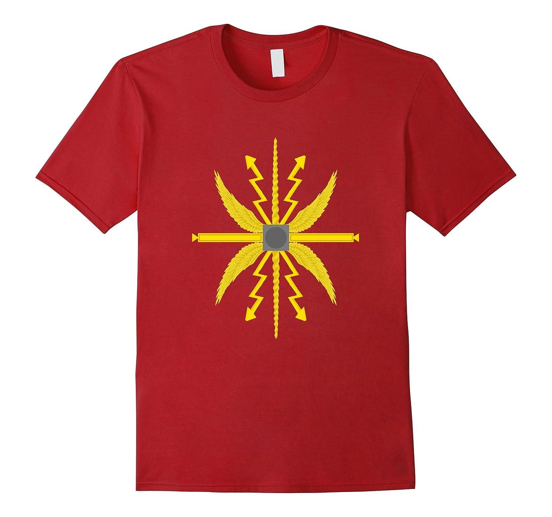 Ancient Roman Shield Design Shirt - Historical Tshirt Scutum-T-Shirt